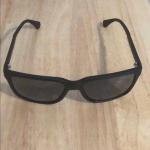 Men's Giorgio Armani matte-finish sunglasses